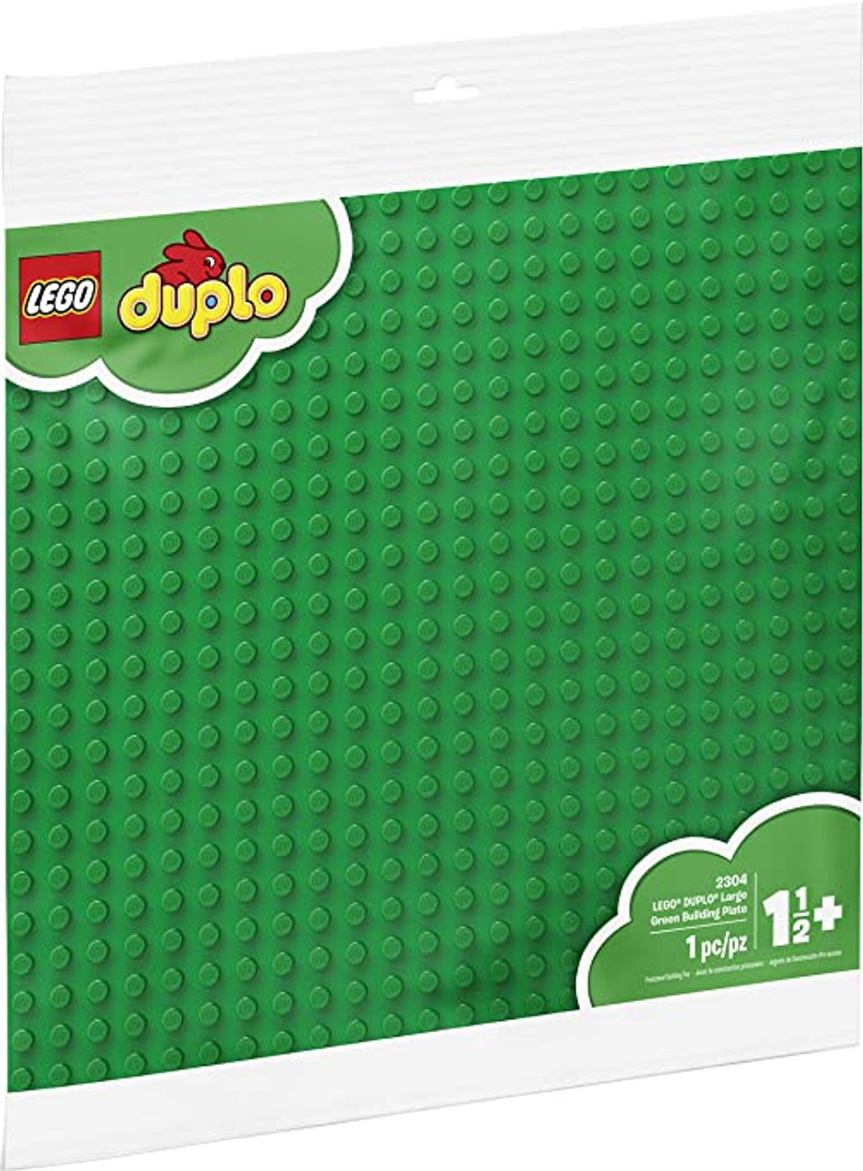 DUPLO LARGE GREEN BUILDING PLATE