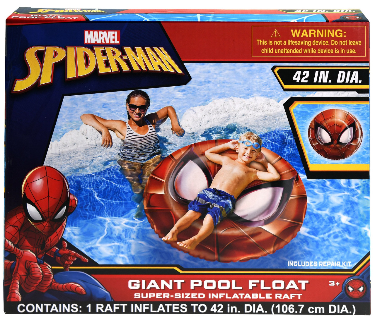 SPIDER MAN INFLATABLE GAINT ROUND FLOAT