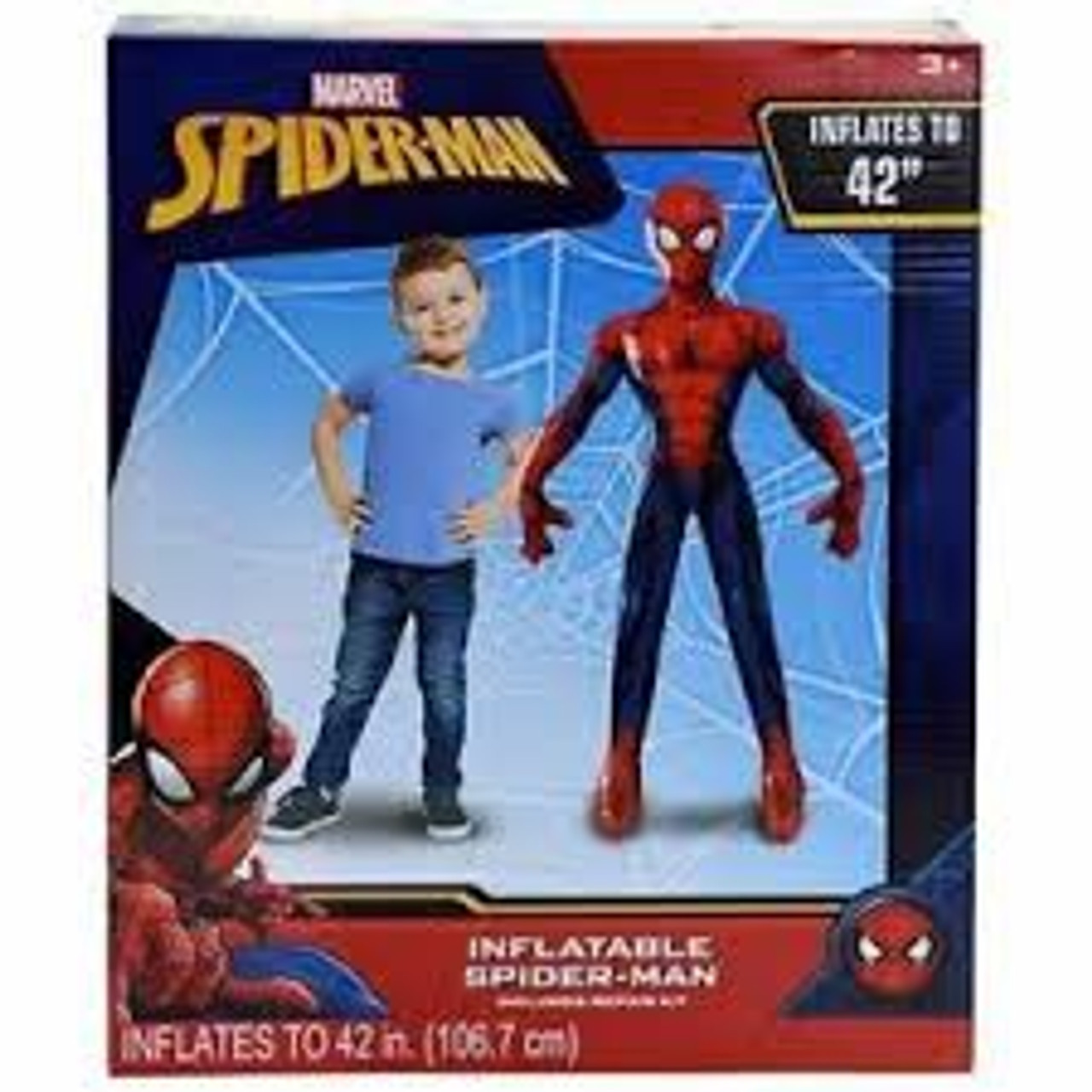SPIDER INFLATABLE CHARACTER SUPER SIZE 45 INCHES