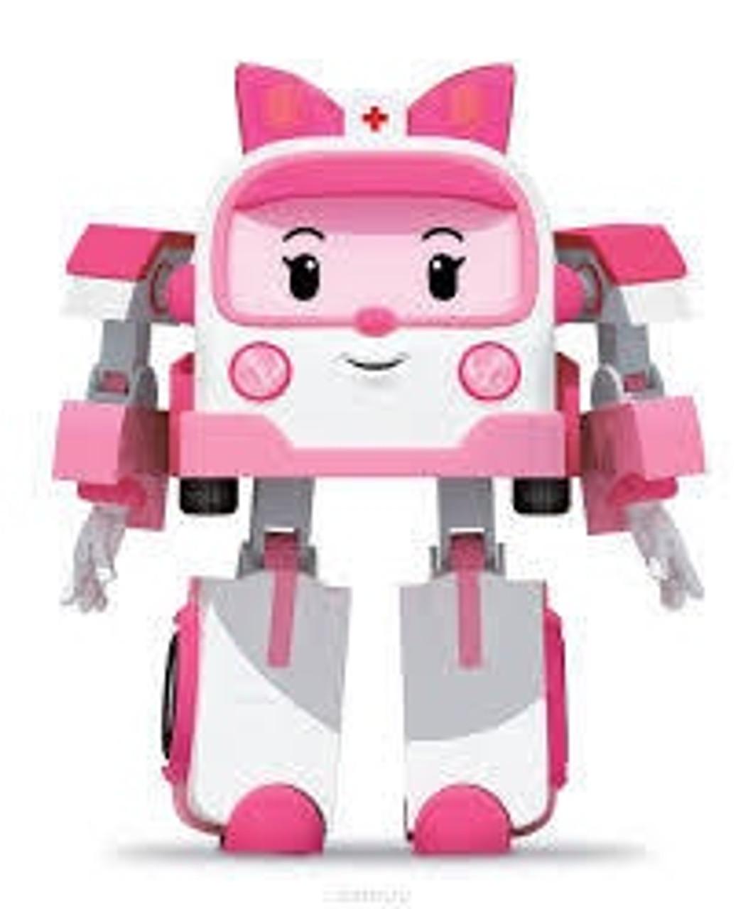POLI TRANSFORMING ROBOT AMBER