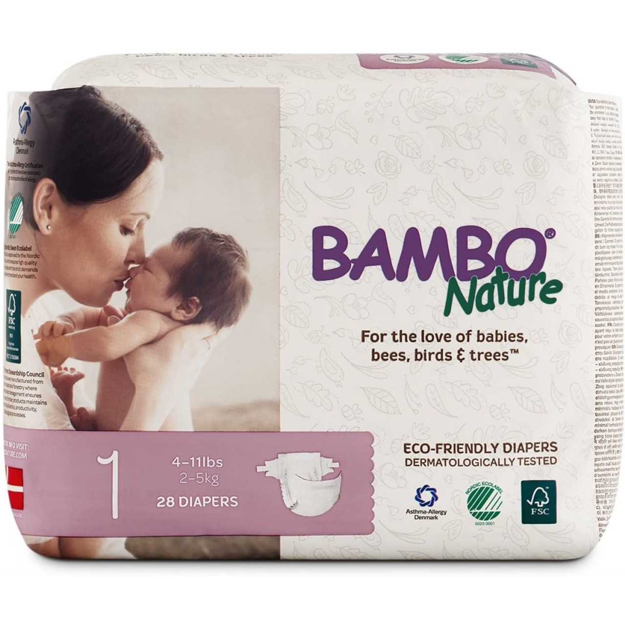BAMBO NATURE DREAM DIAPERS #1