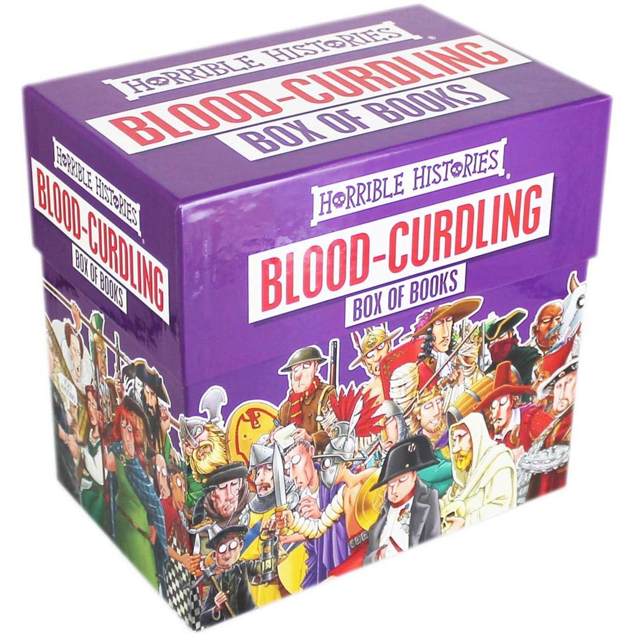 HORRIBLE HISTORIES BLOOD-CURDLING BOXSET (20 BOOKS) W1