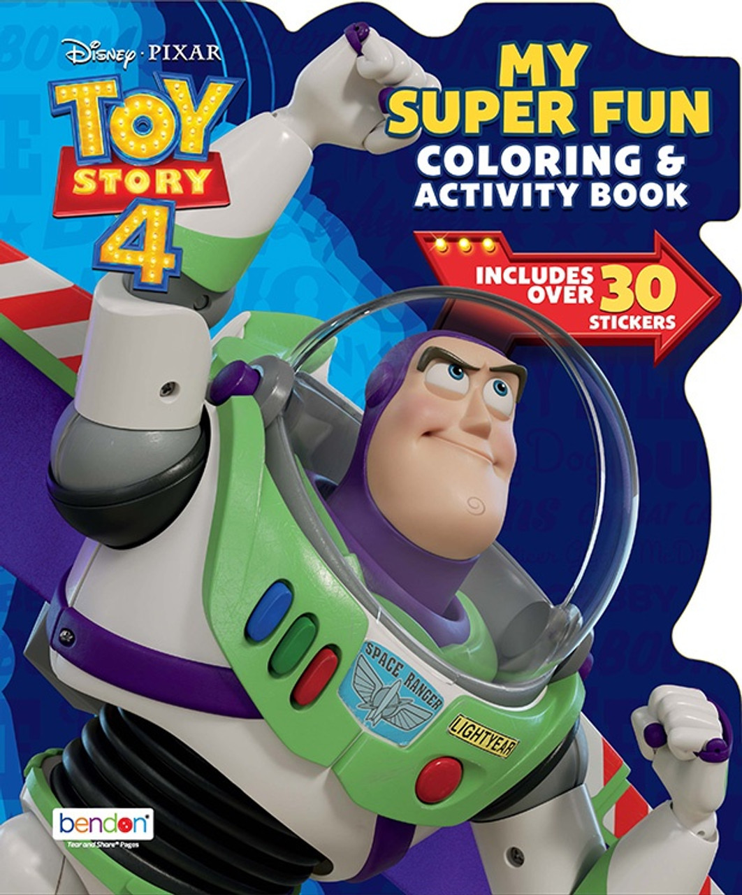 TOY STORY 4 COLORING & ACTIVITY BOOK