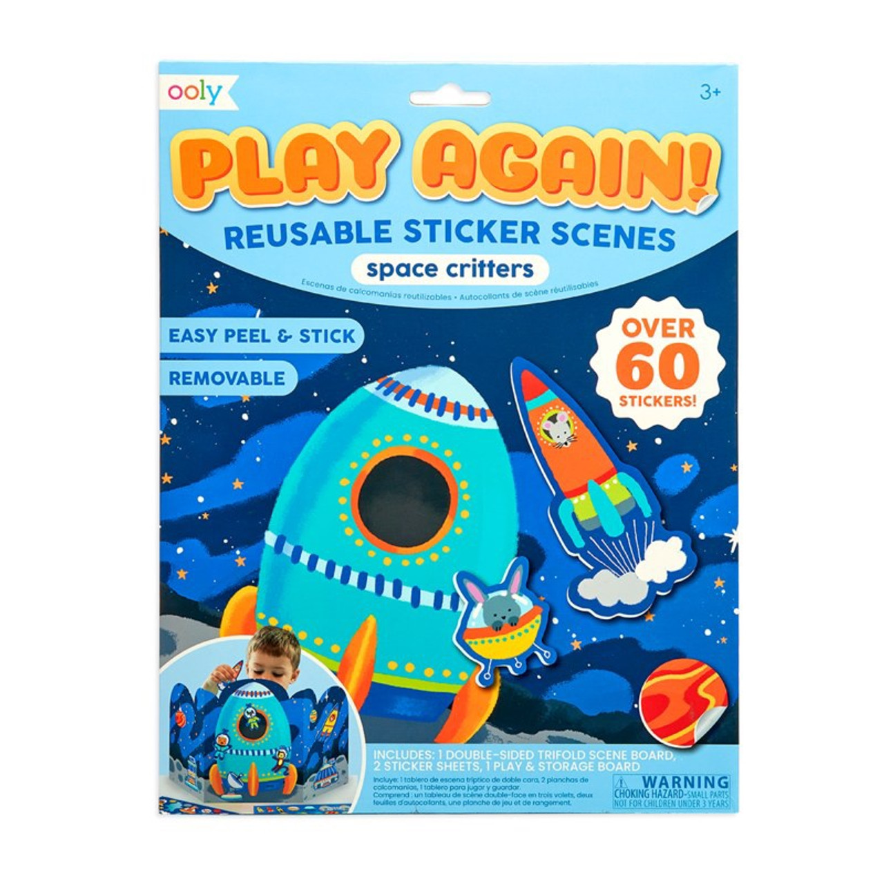 PLAY AGAIN SPACE CRITTERS