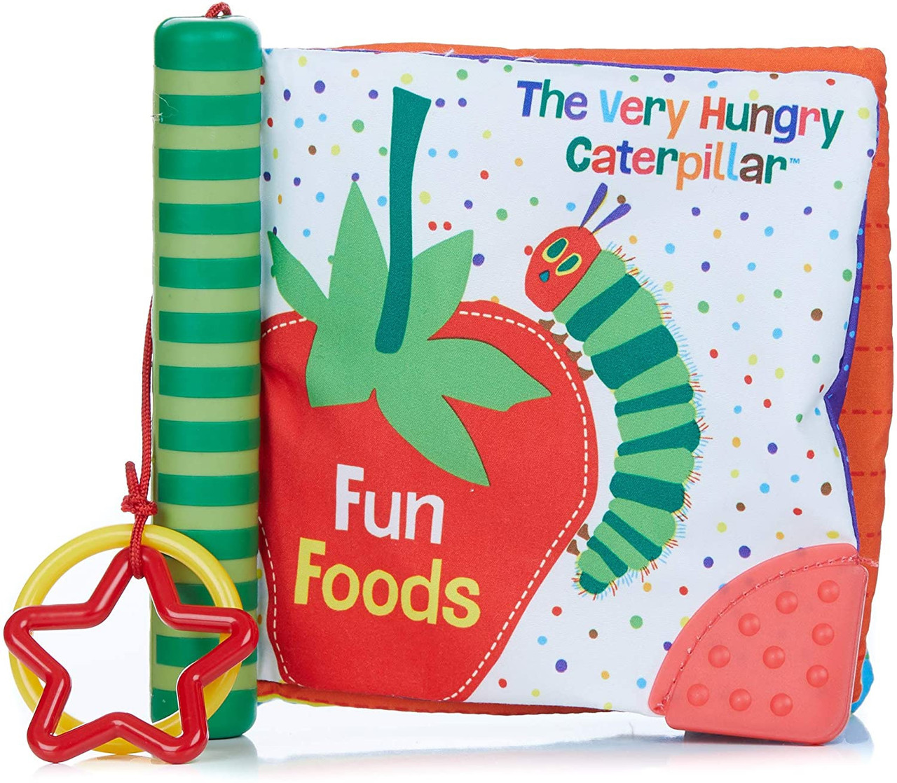 ERIC CARLE TEETHER SPINE SOFT BOOK FUN FOODS