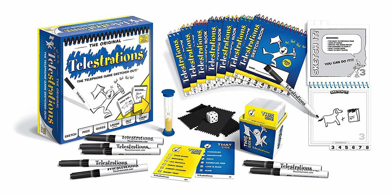 TELESTRATIONS PARTY GAME