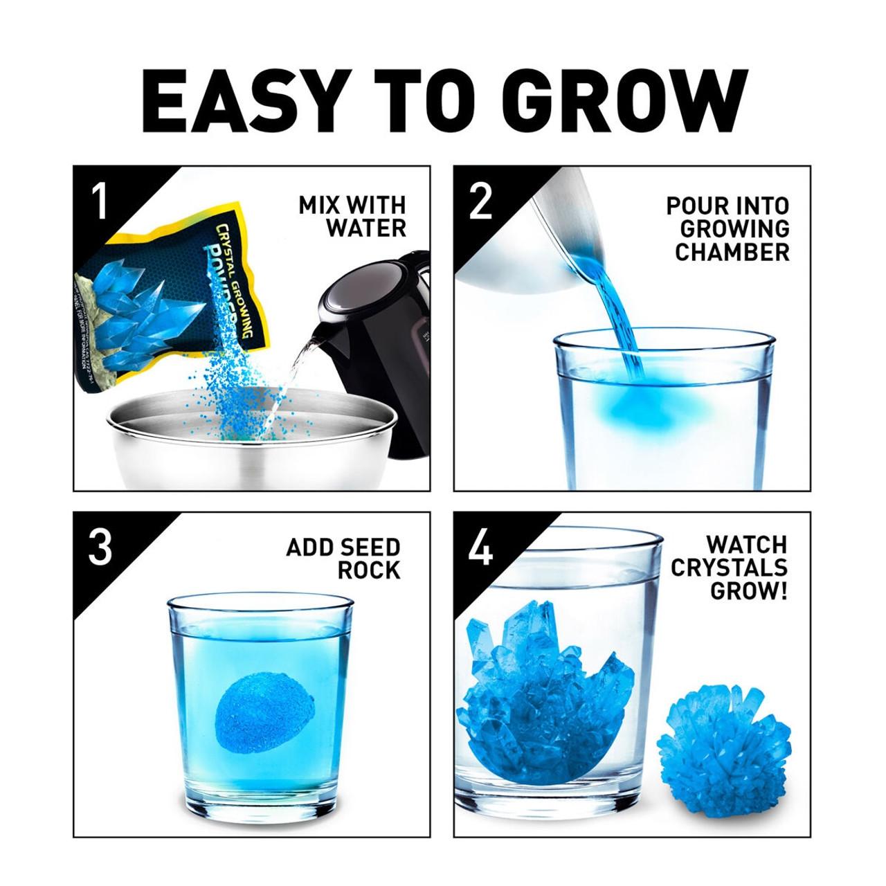 NAT GEO BLUE CRYSTAL GROWING LAB