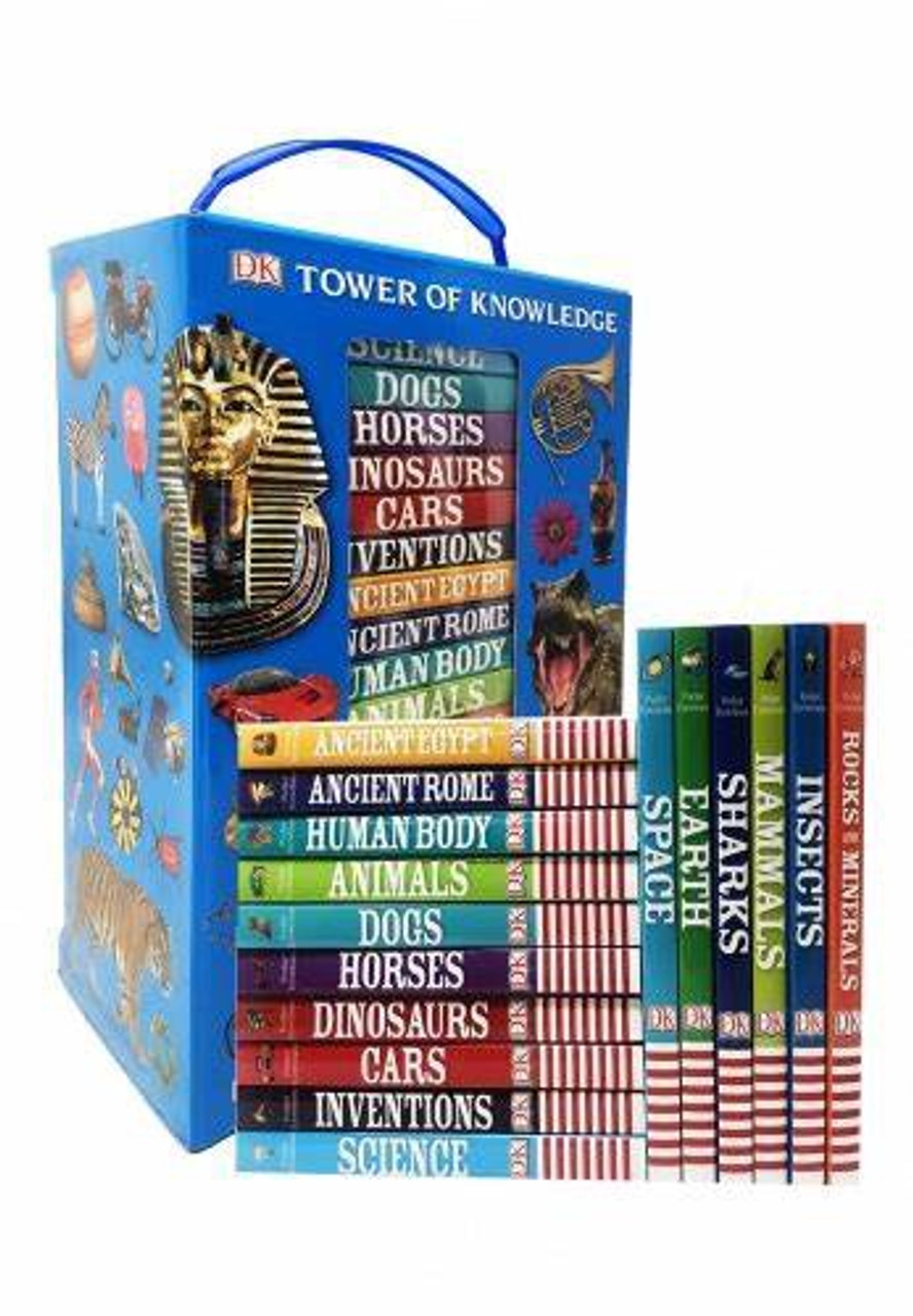 DK TOWER OF KNOWLEDGE BOXSET (16 BOOKS)