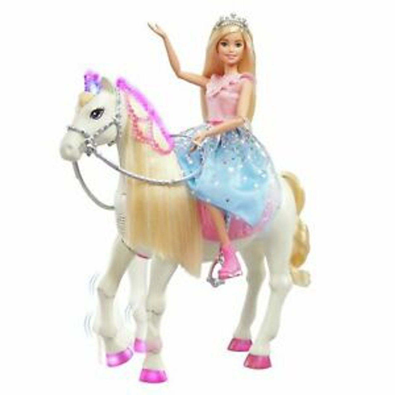 BARBIE PRINCESS FEATURE HORSE
