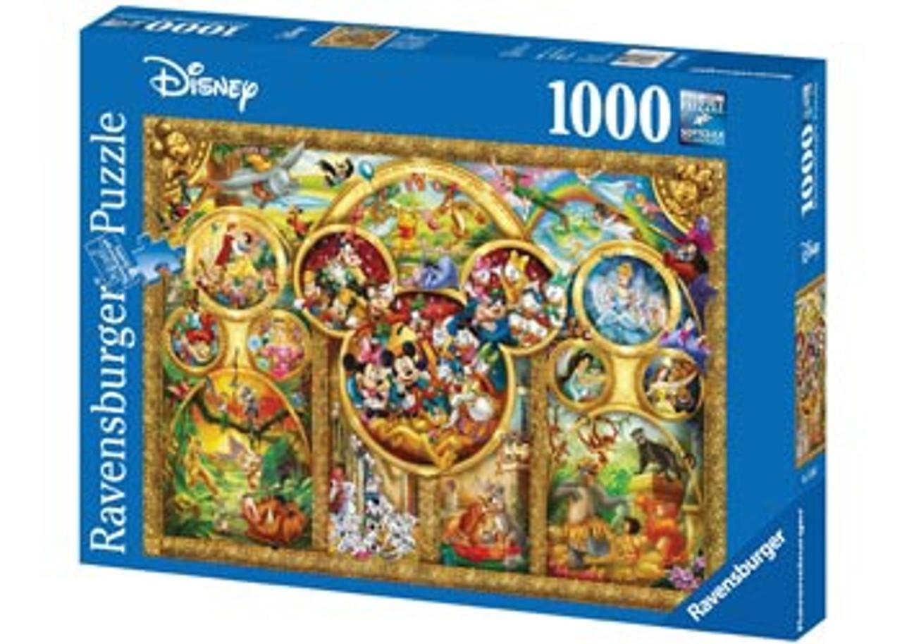 BEST DISNEY THEMES PUZZLE 1000 PCS