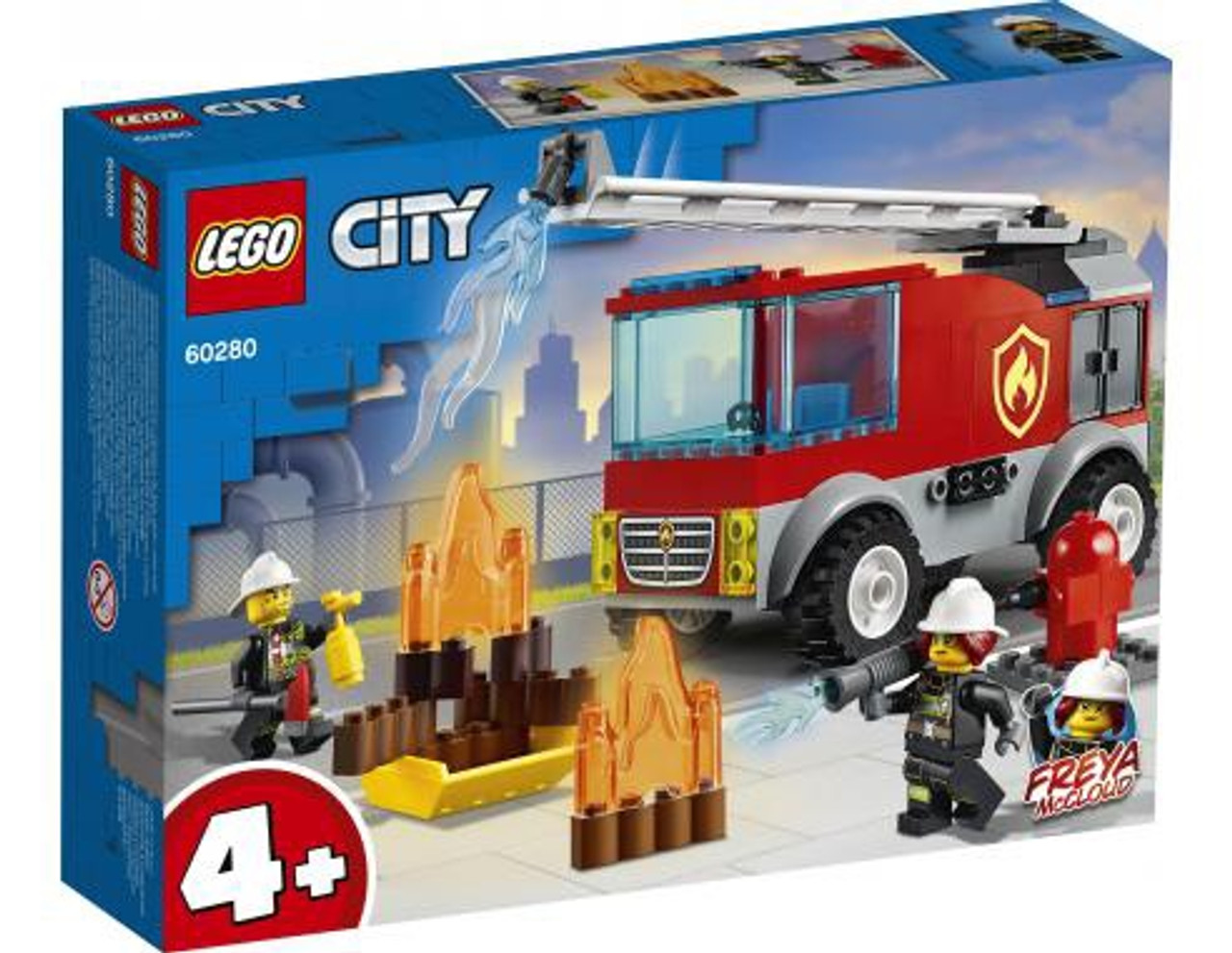 FIRE LADDER TRUCK W1