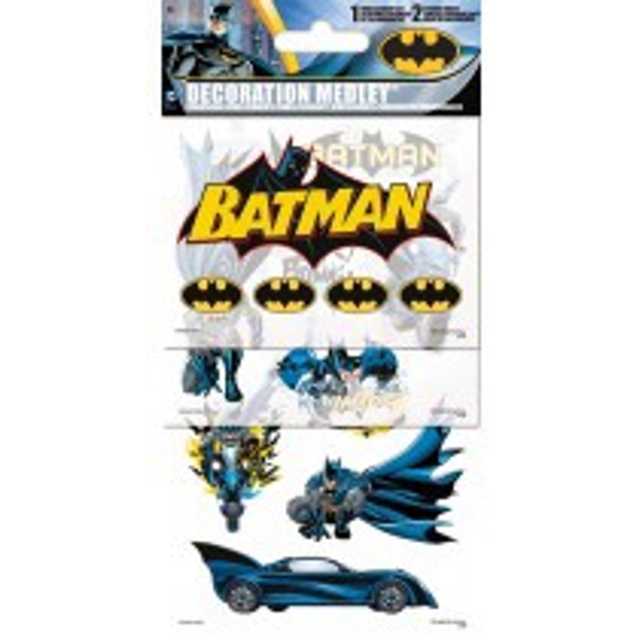 BATMAN DECORATION MEDLEY