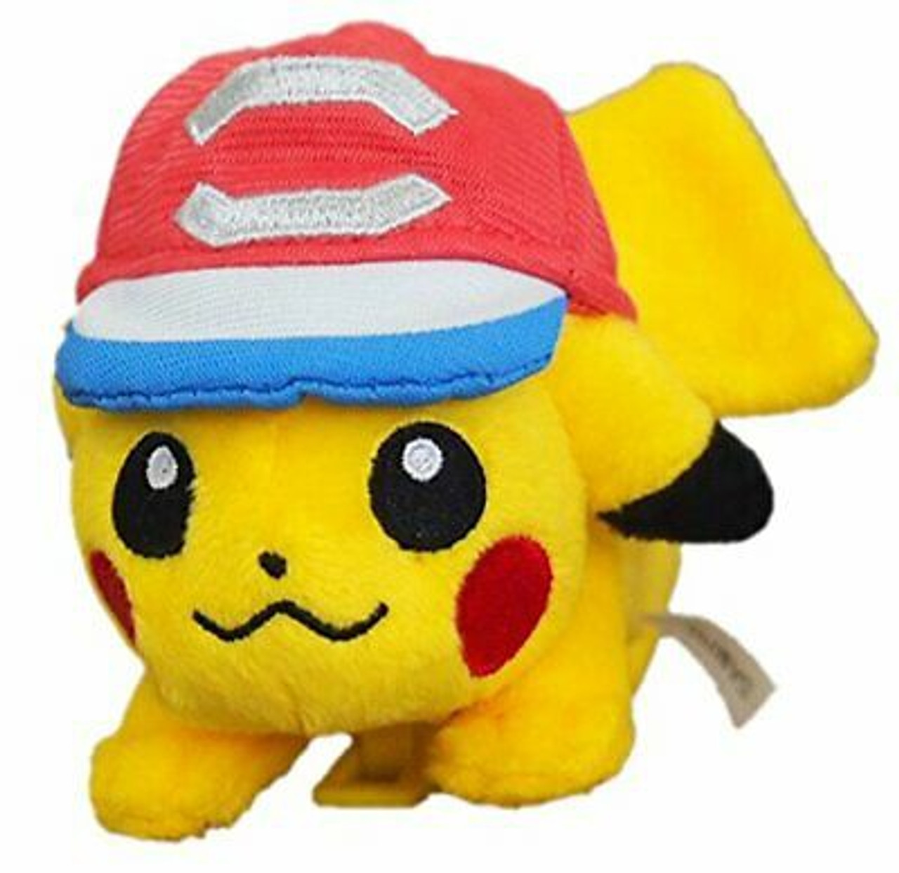 POKEMON PLUSH-SHOULDER PIKACHU WITH CAP(XY)
