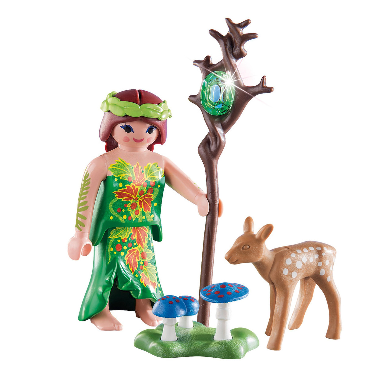 PLAYMOBIL FAMILY WITH DEER