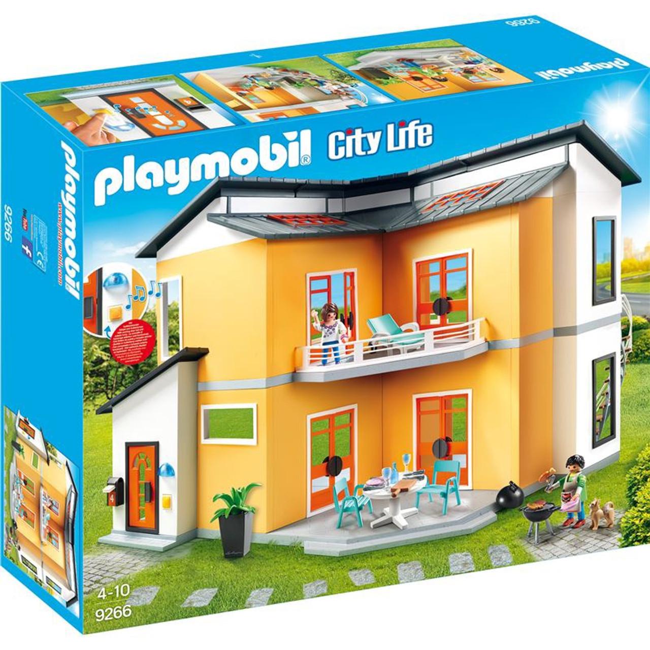 PLAYMOBIL MODERN HOUSE BUILDING