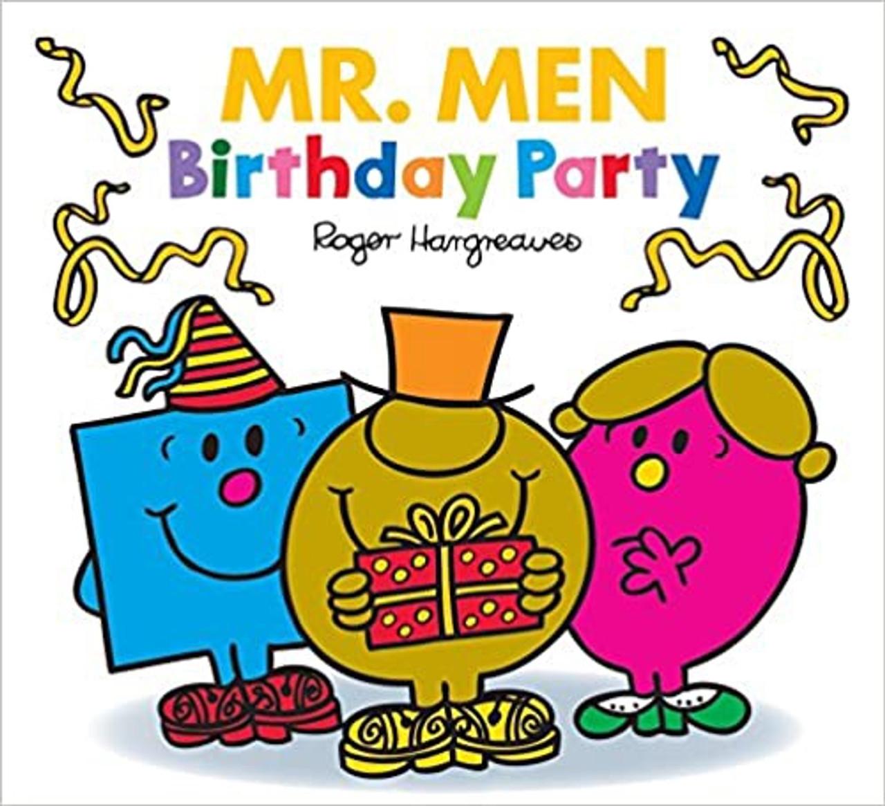 MR MEN BIRTHDAY PARTY PB