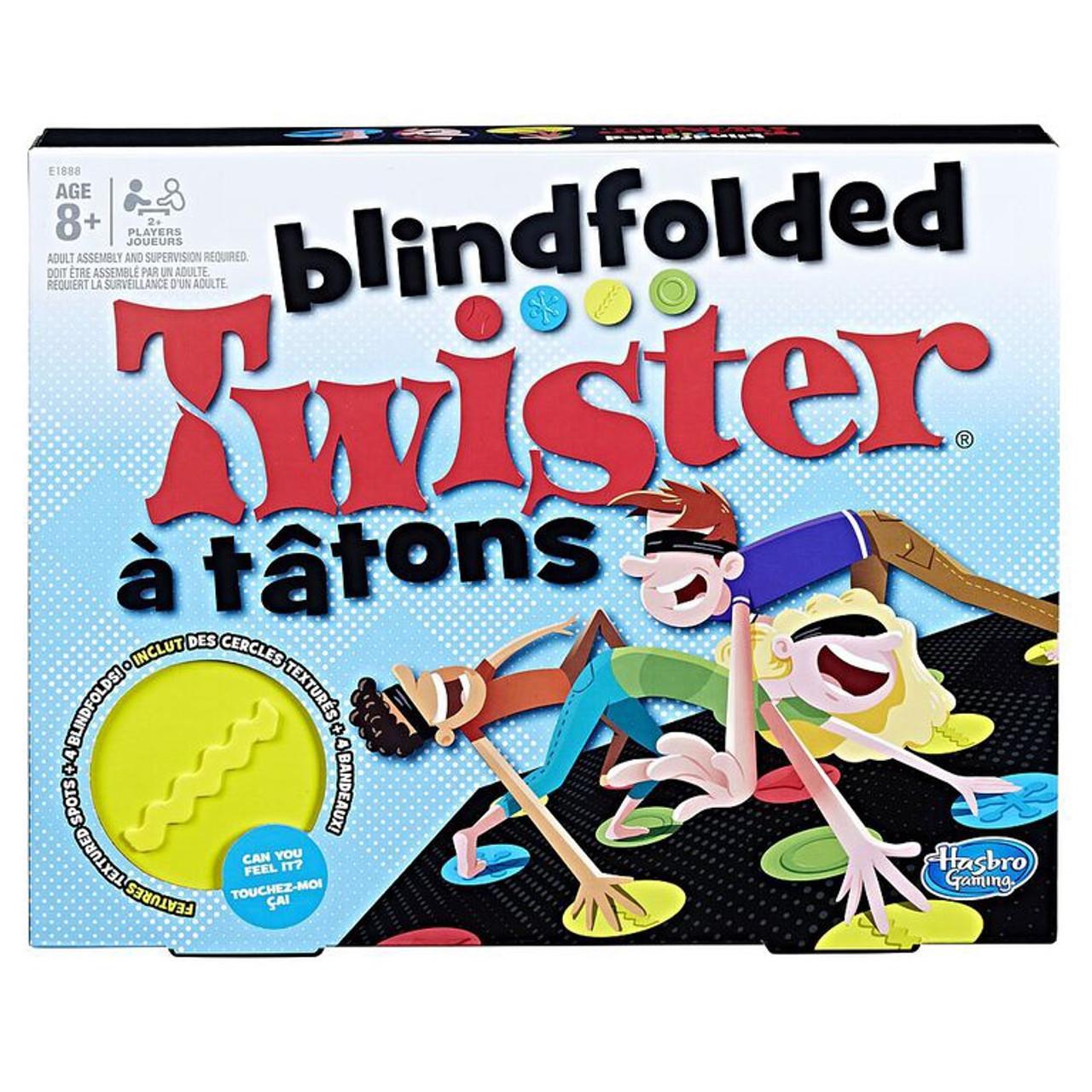 TWISTER BLINDFOLDED GAME