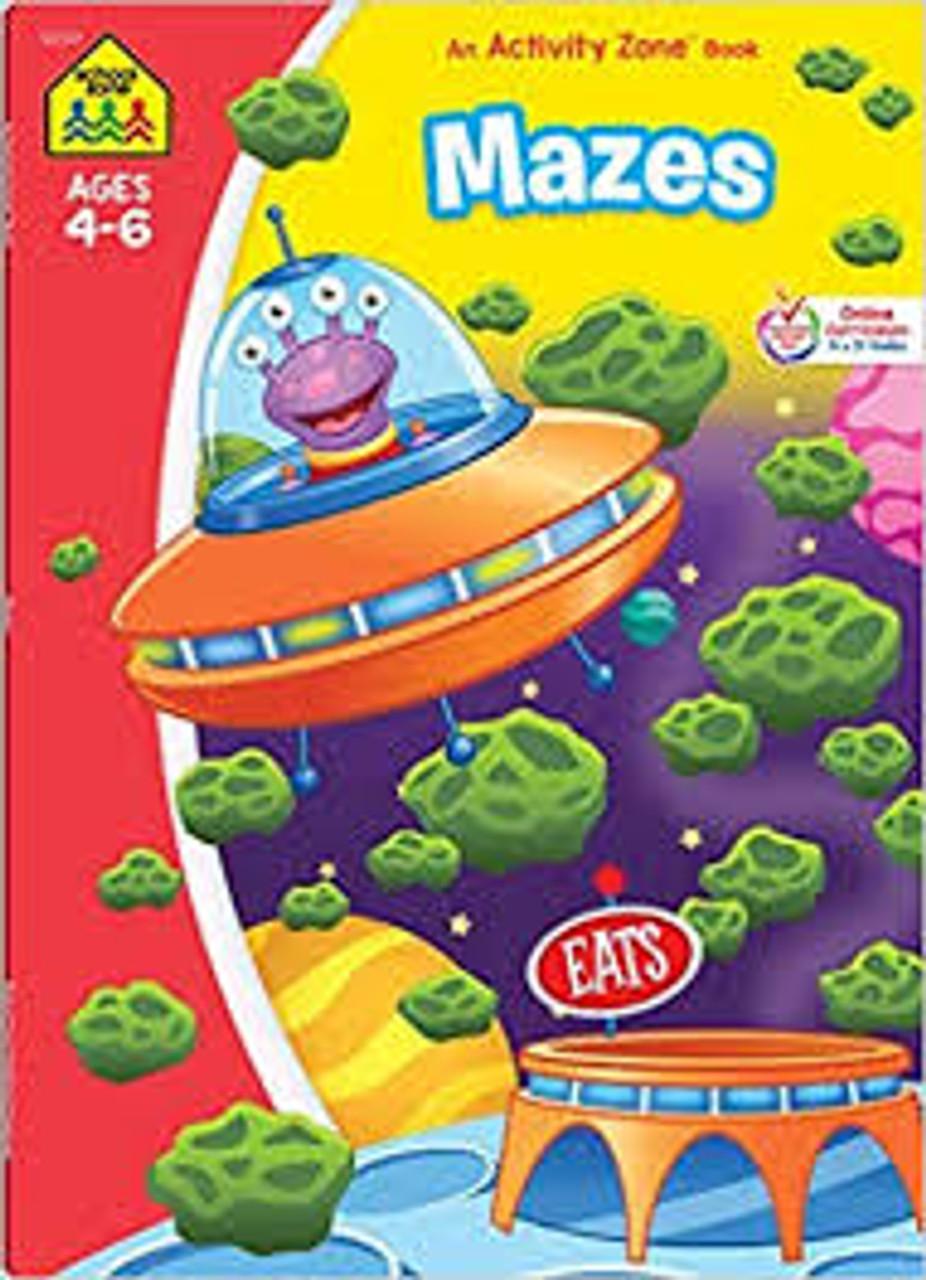 MAZES AGES 4-6 W1