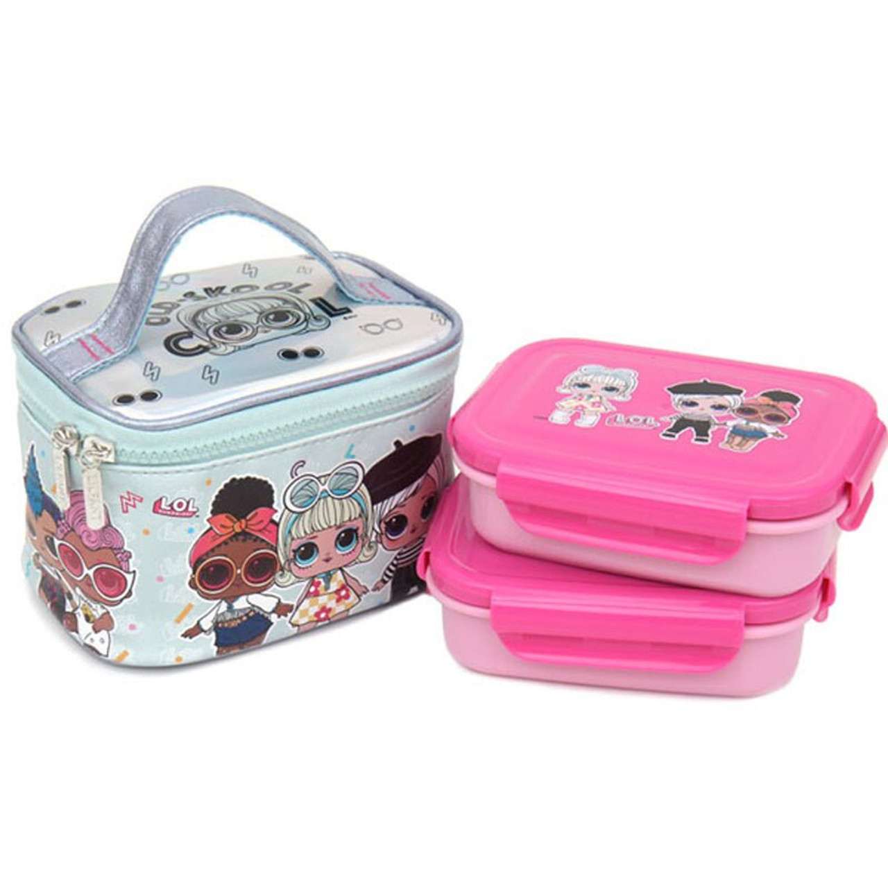 L.O.L SURPRISE STAINLESS STEEL LUNCH BOX