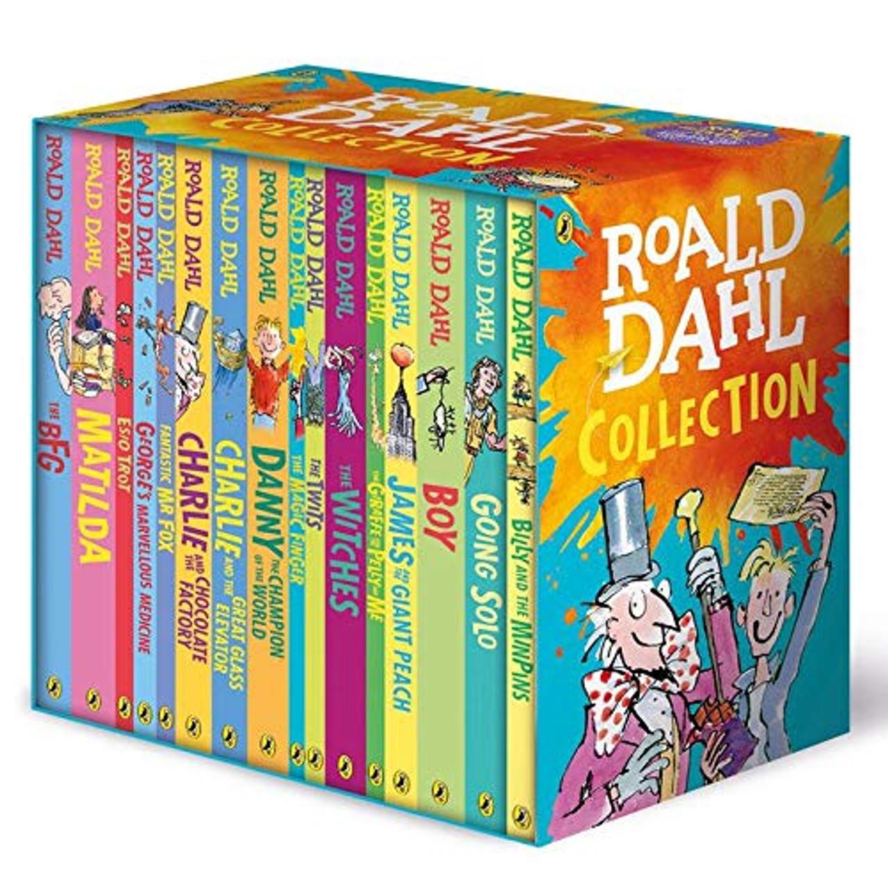 ROALD DAHL COLLECTION (16 BOOKS)