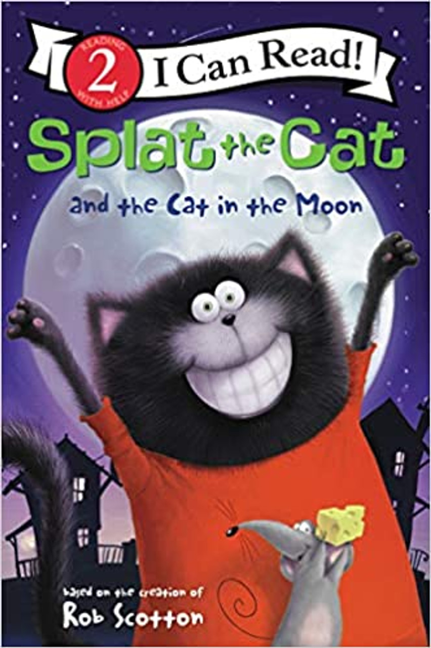 SPLAT THE CAT AND THE CAT IN THE MOON LV2 PB