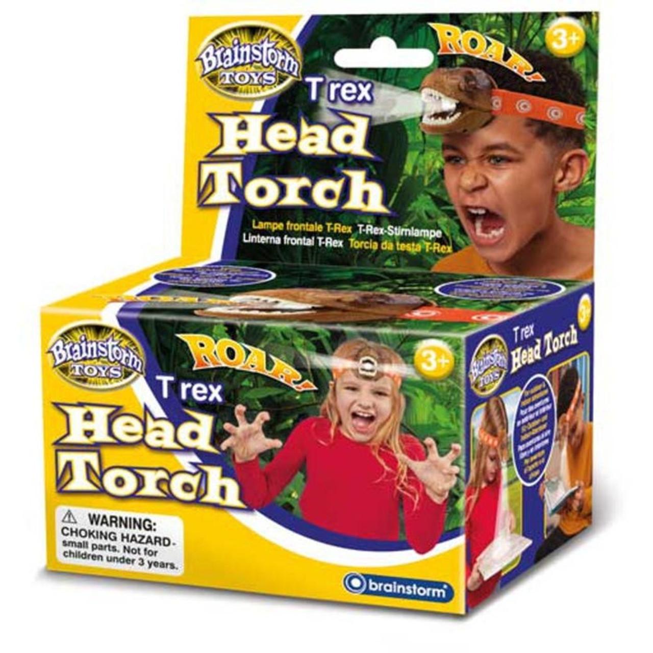 T REX HEAD TORCH