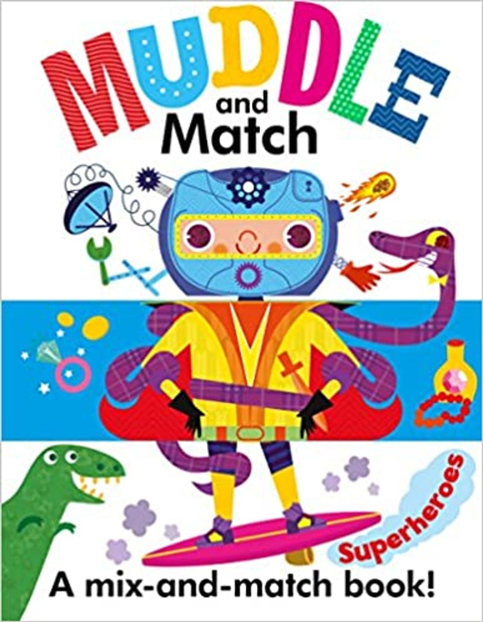MUDDLE AND MATCH SUPERHEROES BB