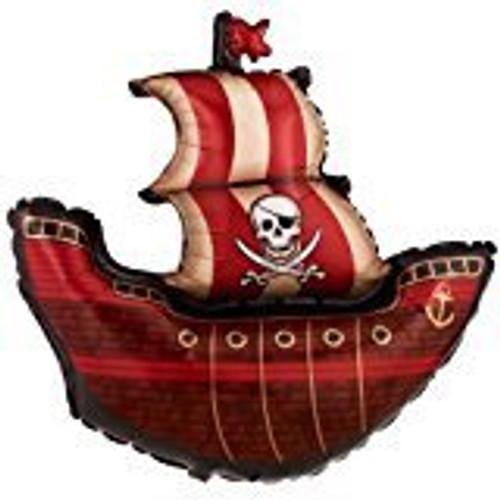 PIRATE SHIP FOIL BALLOON