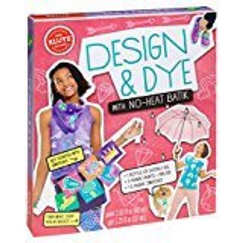 DESIGN & DYE WITH NO-HEAT BATIK CRAFT KIT