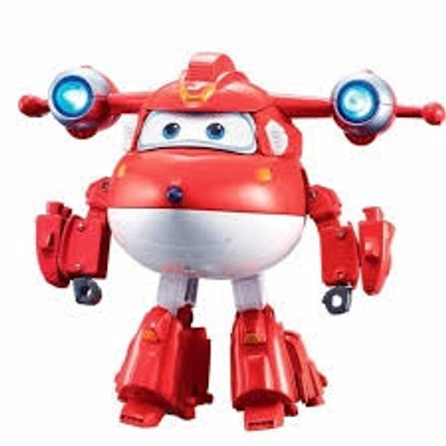SUPER WINGS DELUXE TRANSFORMING-SUPERCHARGED JETT