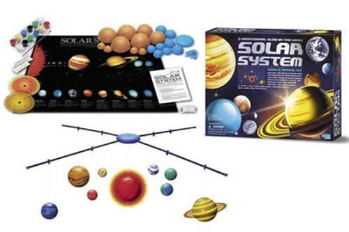 SOLAR SYSTEM 3D MOBILE MAKING