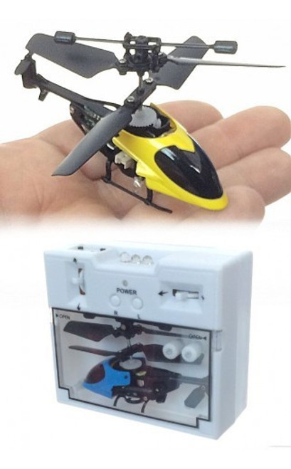 WORLD'S SMALLEST R/C HELICOPTE
