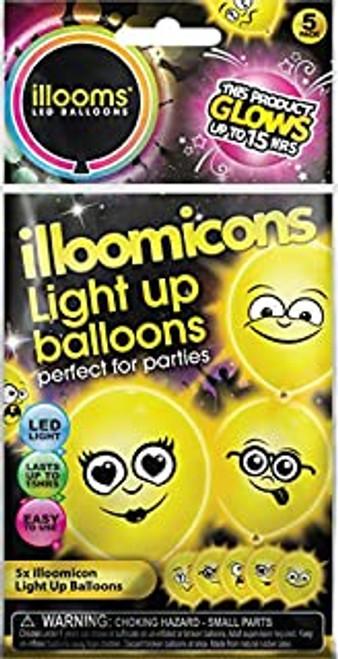 ILLOOMS ILLOOMICONS LIGHT UP BALLOONS