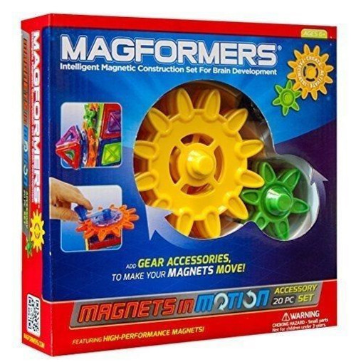 MAGFORMERS MAGNETS IN MITION 20 PIECE ACCESSORY