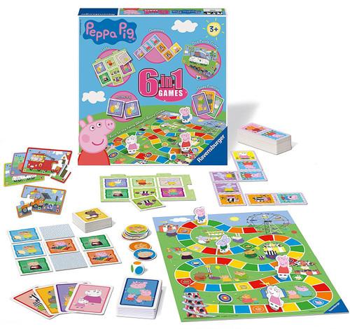 PEPPA PIG 6 IN 1 GAMES