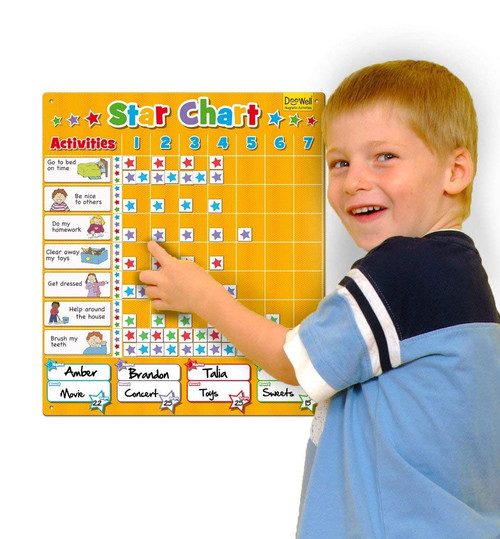 MAGNETIC LARGE STAR CHART
