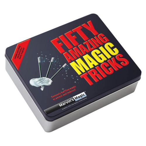 MARVIN'S MAGIC FIFTY AMAZING MAGIC TRICKS