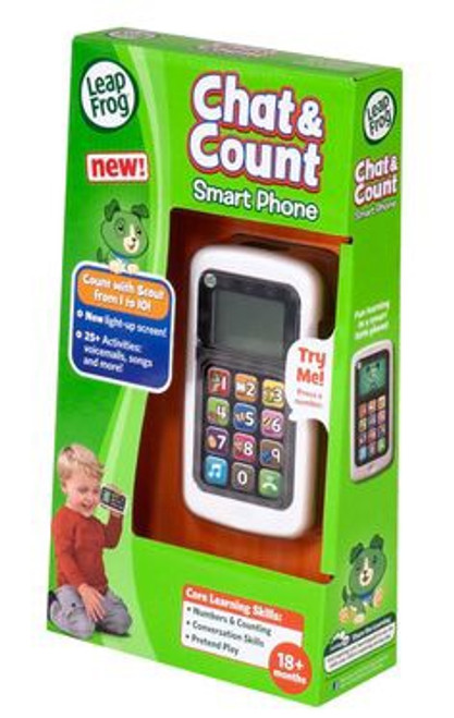 LEAP FROG CHAT & COUNT CELL PHONE