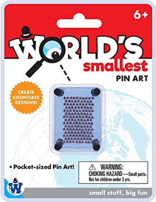 WORLD'S SMALLEST PIN ART