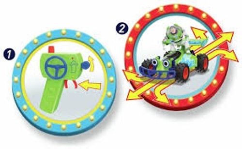 TOY STORY BUZZ RC TURBO BUGGY