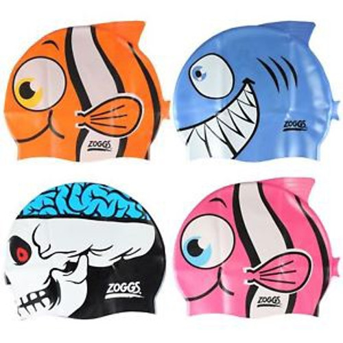 JUNIOR SILICONE CHARACTER CAP ASST