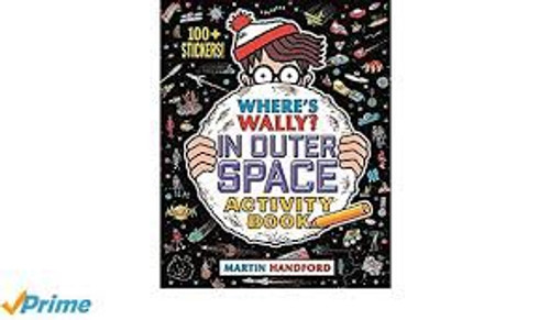 WHERE'S WALLY? IN OUTER SPACE ACTIVITY BOOK (PB)