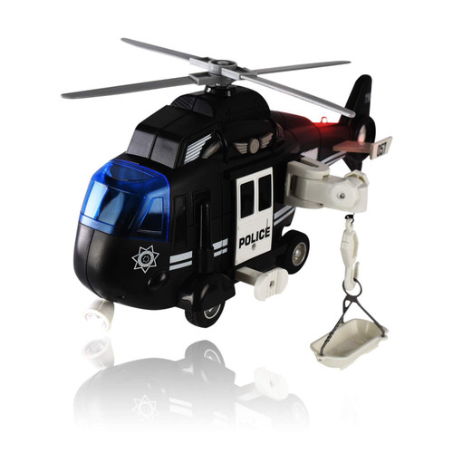 1:16 LIGHT & SOUND POLICE HELICOPTER