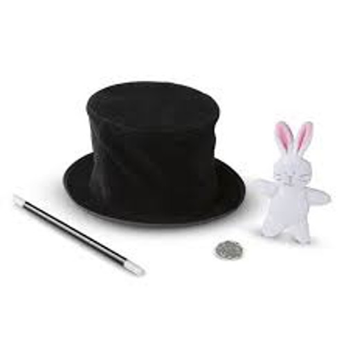 MAGIC IN A SNAP – MAGICIAN'S POP-UP HAT WITH TRICKS