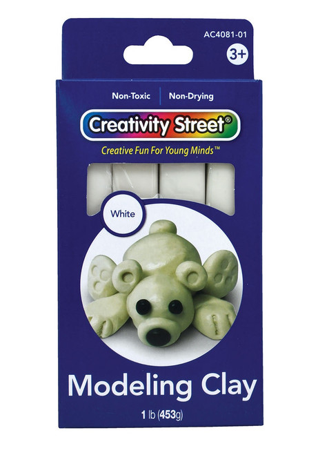 MODELING CLAY 1 LB WHITE