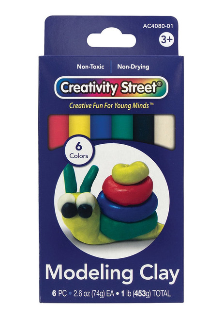 MODELING CLAY 1 LB COLOUR