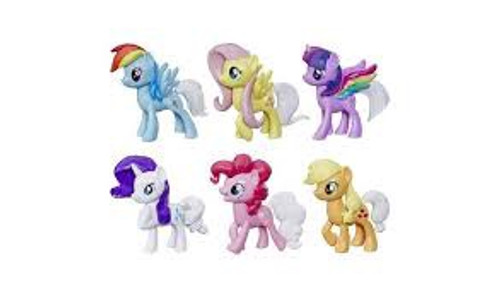 MY LITTLE PONY RAINBOW TAIL SURPRISE - 6 PACK