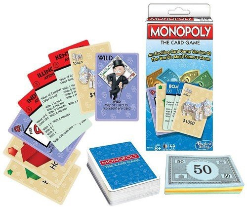 MONOPOLY THE CARD GAME!