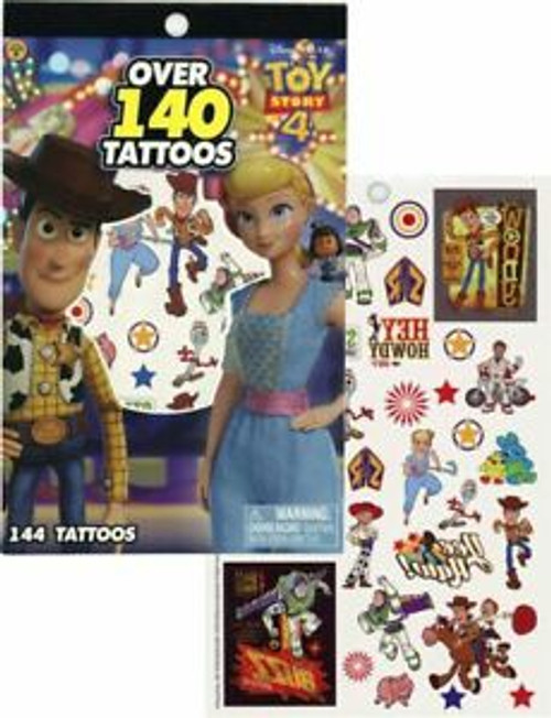 TOY STORY 4 -4 SHEET TATTOO BOOK
