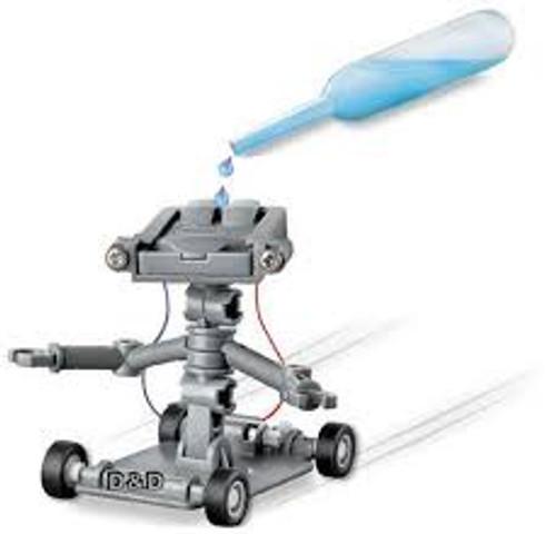 SALT-POWERED ROBOT